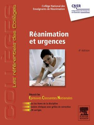 cover image of Réanimation et urgences