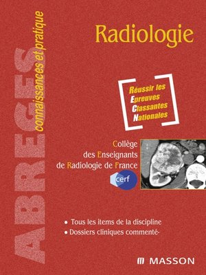 cover image of Radiologie