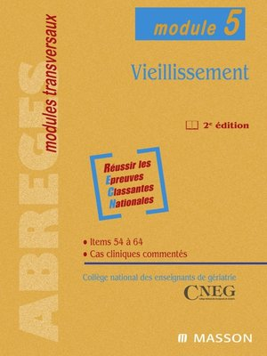 cover image of Vieillissement