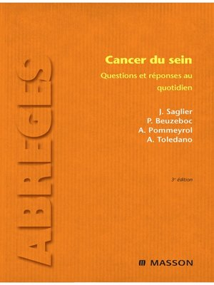 cover image of Cancer du sein