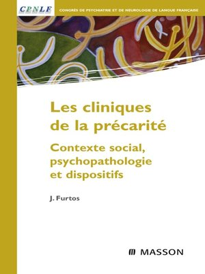 cover image of Les cliniques de la précarité