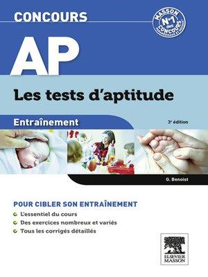 cover image of Concours AP Entraînement Les tests d'aptitude