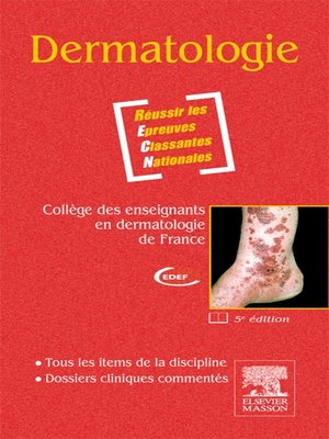 cover image of Dermatologie