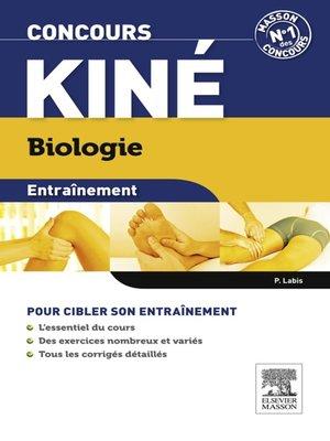 cover image of Entraînement Concours kiné Biologie