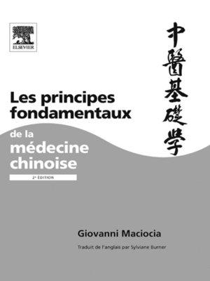 cover image of Les principes fondamentaux de la médecine chinoise
