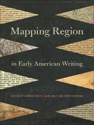 cover image of Mapping Region in Early American Writing