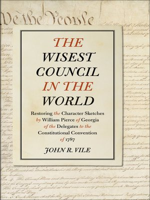 cover image of The Wisest Council in the World