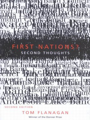 cover image of First Nations? Second Thoughts