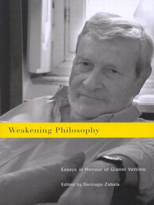 cover image of Weakening Philosophy