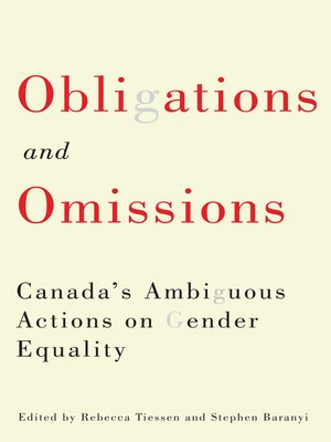 cover image of Obligations and Omissions