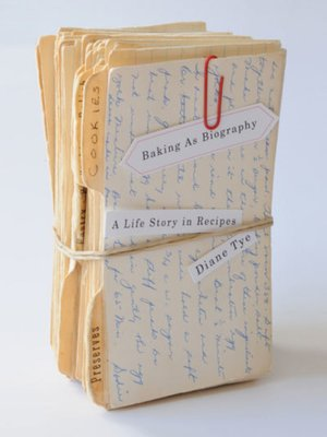 cover image of Baking as Biography