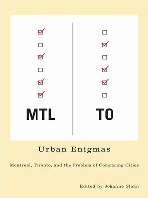 cover image of Urban Enigmas