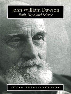 cover image of John William Dawson