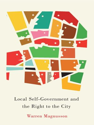 cover image of Local Self-Government and the Right to the City