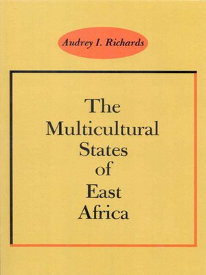 cover image of The Multicultural States of East Africa