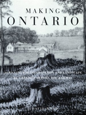 cover image of Making Ontario