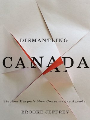 cover image of Dismantling Canada