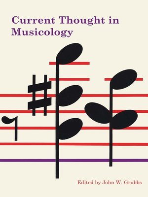 cover image of Current Thought in Musicology
