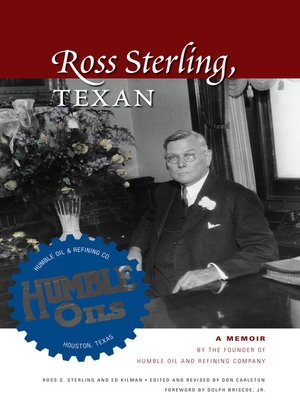 cover image of Ross Sterling, Texan