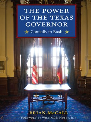 cover image of The Power of the Texas Governor