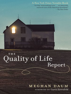 cover image of The Quality of Life Report