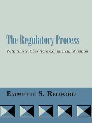 cover image of The Regulatory Process