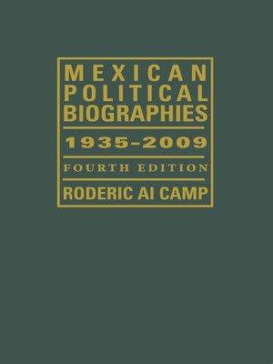 cover image of Mexican Political Biographies, 1935-2009