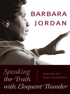 cover image of Barbara Jordan