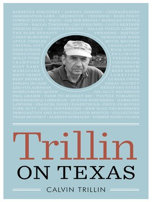 cover image of Trillin on Texas