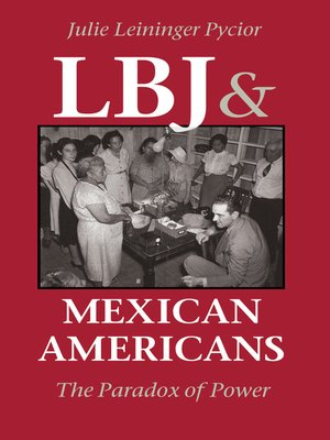cover image of LBJ and Mexican Americans