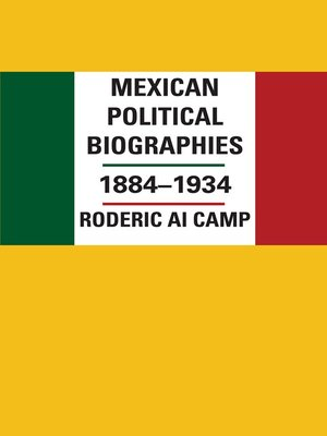 cover image of Mexican Political Biographies, 1884-1934