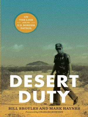 cover image of Desert Duty