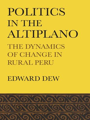 cover image of Politics in the Altiplano
