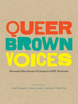 cover image of Queer Brown Voices