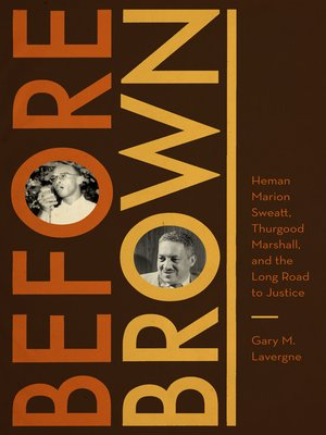 cover image of Before Brown