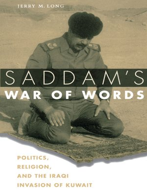cover image of Saddam's War of Words