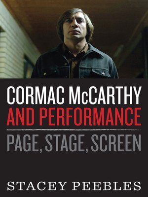 cover image of Cormac McCarthy and Performance