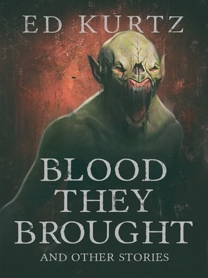 cover image of Blood They Brought