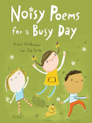 cover image of Noisy Poems for a Busy Day