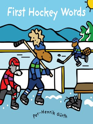 cover image of First Hockey Words