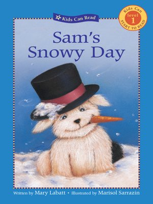cover image of Sam's Snowy Day