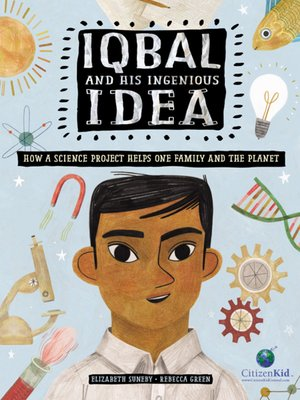 cover image of Iqbal and His Ingenious Idea