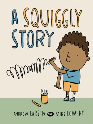 cover image of A Squiggly Story