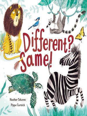 cover image of Different? Same!