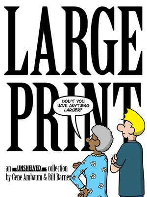 cover image of Large Print