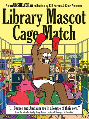 cover image of Library Mascot Cage Match