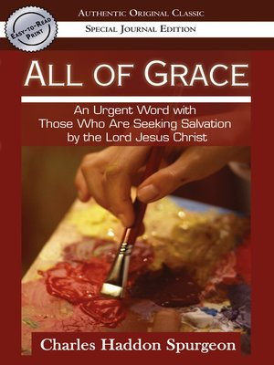 cover image of All of Grace (Authentic Original Classic)