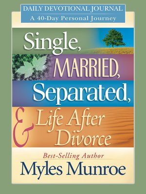 Divorced and single