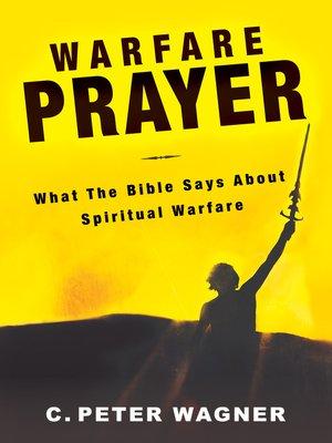 cover image of Warfare Prayer