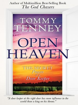 The God Chasers Tommy Tenney Epub